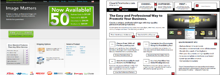 With the help of some outside UX designers we proposed another A/B Test version.